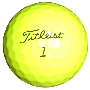 BRAND NEW Yellow PRACTICE STAMP Titleist Nxt Tour S Yellow Golf Balls