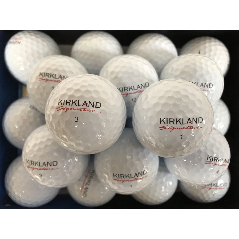 Kirkalnd signature golf balls