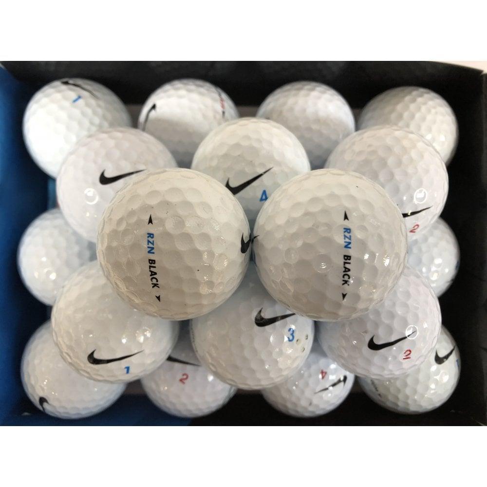 La forma polla gusano  Nike RZN Black Golf Balls   Premier Lakeballs Ltd