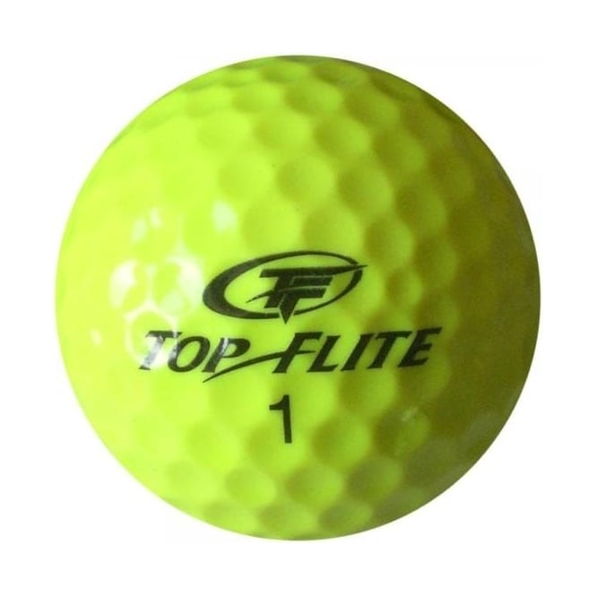 Top Flite Yellow Golf Balls