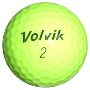 Vista Is \ Iv Yellow golf balls